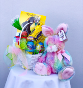 Easter Basket - Sugar Swirl Bunny Easter Basket