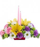 easter blessing centerpiece floral arrangement