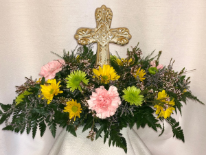 Easter Blessings Centerpiece Easter Special in Lewiston, ME | BLAIS FLOWERS & GARDEN CENTER