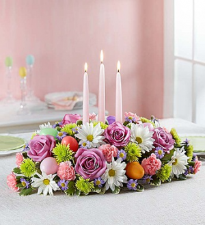 Easter Centerpiece Centerpiece in Croton On Hudson, NY | Cooke's Little Shoppe Of Flowers