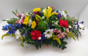 Easter Centerpiece Fresh Arrangement in Blue Bell, PA | BLOOMS AND BUDS