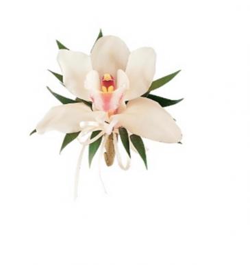 Easter Cymbidium Orchid  Corsage