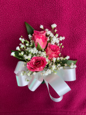 Easter Sweetheart Rose  Corsage