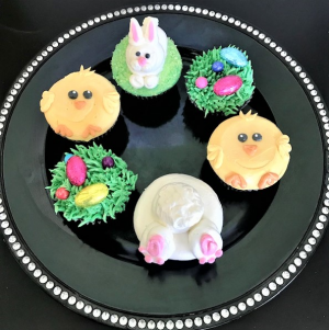 Easter Cupcakes Sweet Blossoms in Jamestown, NC | Blossoms Florist & Bakery