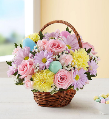 EASTER EGG BASKET BASKET