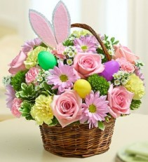 Easter Egg Basket Basket Arrangement