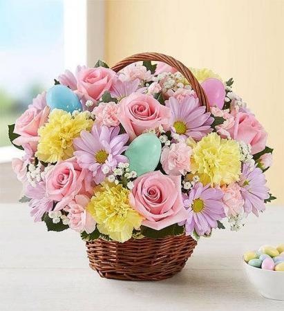 Easter Egg Basket EASTER