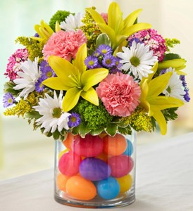 Easter Egg Centerpiece Easter Arrangement