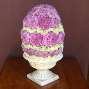 Easter Egg Centerpiece Fresh arrangement made only in our delivery area