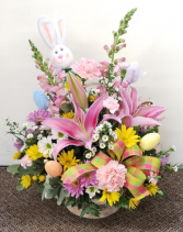 Easter Egg Hunt  Fresh Floral Arrangement