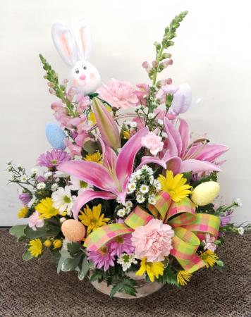 Easter Egg Hunt  Fresh Floral Arrangement