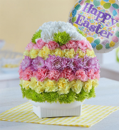 EASTER EGG OF BLOOMS CENTERPIECE