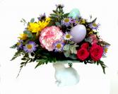 Easter Egg Plate Easter