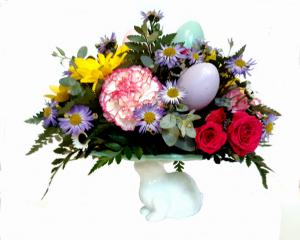 Easter Egg Plate Easter in Penn Yan, NY | Garden of Life Flowers