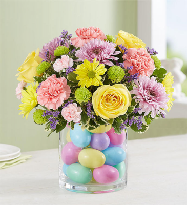 EASTER EGG-STRAVAGANZA CENTERPIECE