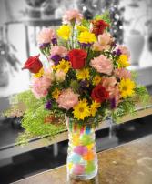 Easter Egg Vase  Arrangement