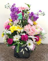 Easter Fantasy  Fresh Floral Arrangement
