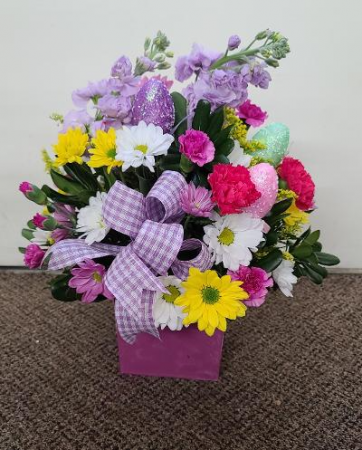 Easter Fantasy Wishes Fresh Flower Arrangement (Local Delivery Only)