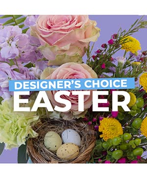 Easter Florals Designer's Choice in Hanna, AB | COUNTRY CHARMS FLOWERS & GIFTS