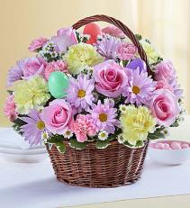 Easter Flower Basket Easter Flower Delivery