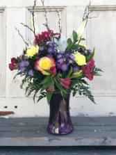 Spring Gathering  gathering vase