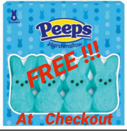 Easter Marshmallows- FREE