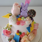 Easter Mini Deco Cake Sweet Blossoms