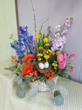 Easter Morn' Basket Arrangement