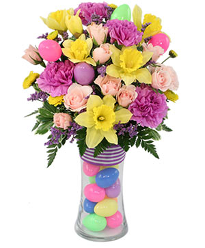 Easter Parade Bouquet in Santa Barbara, CA | Lily's Flowers And Fruity Florets