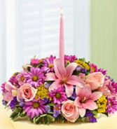 easter pinks floral arrangement