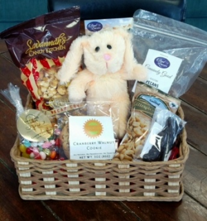 Easter Snacks  Gift Basket in Bluffton, SC | BERKELEY FLOWERS & GIFTS
