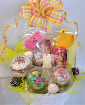 Easter Sweet Thoughts Basket Sweet Blossoms