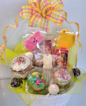 Easter Sweet Thoughts Basket Sweet Blossoms in Jamestown, NC | Blossoms Florist & Bakery