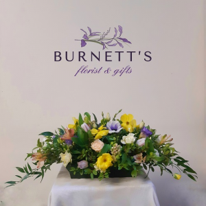 Spring Table Arrangement  in Kelowna, BC | Burnett's Florist