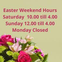 Easter Weekend Hours 2021