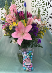 Easter Wishes Fresh Arrangement
