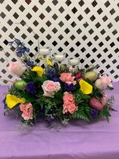 Easter/Spring Centerpiece Fresh Arrangement