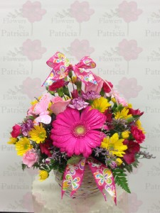 Eastery Flower Basket