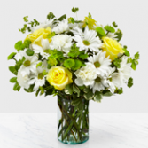 Easy Breezy Daisy Bouquet Vase arrangement