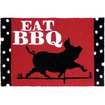 Eat BBQ Jelly Beans Rug Powell Florist Exclusive