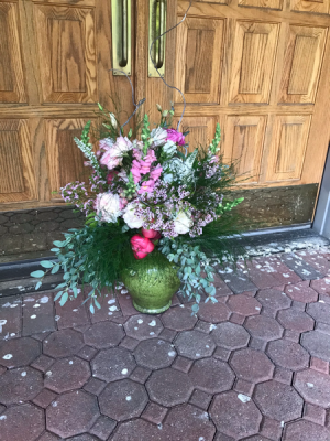 Eclectic Wonder Done in ceramics, differing colors  in Syracuse, IN | Dynamic Floral