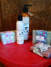 Edenwalk Goat's Milk Lotions and soaps