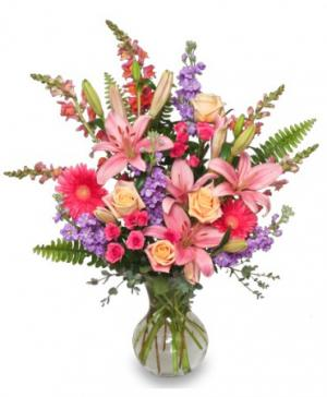 Effervescent Blooms Bouquet in Clearfield, UT | 4 SISTERS FLORAL & HOME DECOR