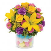 Egg-Cited For Easter Arrangement