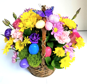 Easter in Watercrest Holiday Basket in Coral Springs, FL | Hearts & Flowers of Coral Springs
