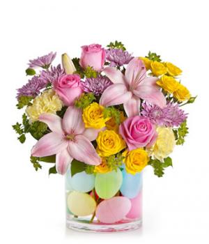 Eggcellent Pastel Bouquet  in Orlando, FL | Artistic East Orlando Florist