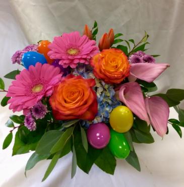 Egged Easter Fresh Floral Design