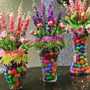 Eggstravaganza  Easter centerpiece  in Ozone Park, NY   Heavenly Florist