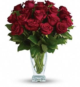 Eighteen Red Roses Rose Arrangement