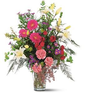 Elaborate Expressions Vase     TF185-3 Fresh Floral Vase